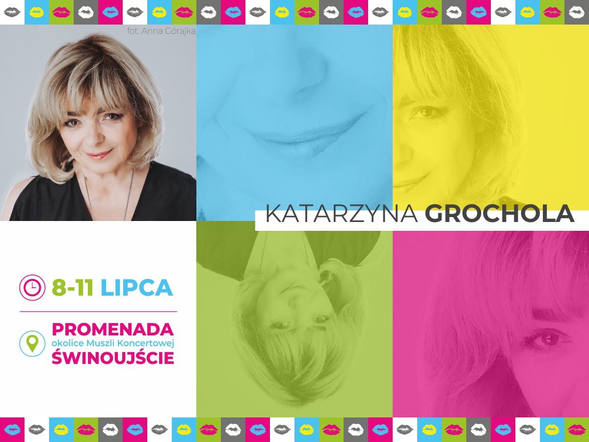 Katarzyna Grochola zagości na festiwalu Wakacyjne Miasto Kobiet